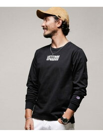 [Rakuten Fashion]【SALE/10%OFF】LIR別注LONGSLEEVETEE Champion ナノユニバース カットソー Tシャツ ブラック ピンク グレー ホワイト【RBA_E】【送料無料】
