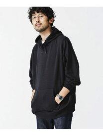 【SALE/30%OFF】<WEB限定>ビッグシルエットスウェットパーカー nano・universe ナノユニバース カットソー パーカー ブラック グレー ホワイト ブラウン ピンク【RBA_E】[Rakuten Fashion]