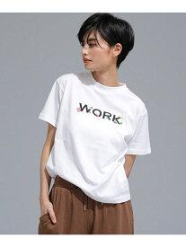 [Rakuten Fashion]【SALE/50%OFF】WORKプロントTシャツ MUVEIL WORK ナノユニバース その他 その他 ホワイト ネイビー【RBA_E】【送料無料】