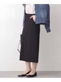 [Rakuten Fashion]【SALE/20%OFF】WEB限定/スリットタイトスカート nano・universe ナノユニバース スカート スカートその他 ブラック グレー ネイビー オレンジ カーキ ブルー【RBA_E】【送料無料】