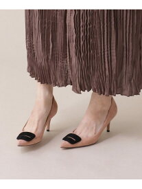 [Rakuten Fashion]ANELLIFIBIA6.5cm PELLICO ナノユニバース シューズ パンプス ピンク ネイビー【送料無料】