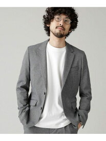 [Rakuten Fashion]ダメリーノSOLOTEXフランネルジャケット nano・universe ナノユニバース コート/ジャケット テーラードジャケット グレー ネイビー【送料無料】