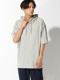 [Rakuten Fashion]【SALE/60%OFF】:ウォッシュドフーディーSS nano・universe Selected ナノユニバース カットソー パーカー グレー オレンジ ブラック ブルー【RBA_E】