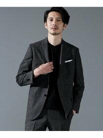 [Rakuten Fashion]【SALE/10%OFF】動けるスーツ DRAGO フランネルジャケット nano・universe ナノユニバース コート/ジャケット テーラードジャケット グレー ブラウン【RBA_E】【送料無料】