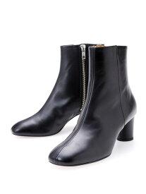 [Rakuten Fashion]ROUNDSQZIPBT55 CHEMBUR ナノユニバース シューズ ロングブーツ ブラック【送料無料】