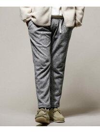 [Rakuten Fashion]【SALE/40%OFF】別注BONDING KNIT FLEECE 1タックパンツ GRAMICCI ナノユニバース パンツ/ジーンズ フルレングス グレー ホワイト【RBA_E】【送料無料】