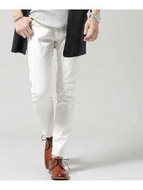[Rakuten Fashion]スリムスキニー 5Pパンツ nano・universe ナノユニバース パンツ/ジーンズ フルレングス ホワイト ネイビー ピンク ブラック ベージュ【送料無料】