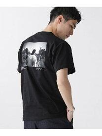 [Rakuten Fashion]【SALE/50%OFF】[着るアート] CHERYL DUNN フォトTシャツ 2 nano・universe ナノユニバース カットソー Tシャツ ブラック ホワイト【RBA_E】