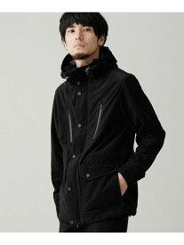 【SALE/50%OFF】テックコールCPOマウンテンパーカー nano・universe ナノユニバース コート/ジャケット ブルゾン ブラック ブラウン【RBA_E】【送料無料】[Rakuten Fashion]