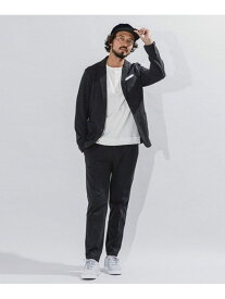[Rakuten Fashion]ダメリーノSOLOTEX 交編カノコ セットアップ nano・universe ナノユニバース コート/ジャケット テーラードジャケット グレー ブラウン ネイビー【送料無料】
