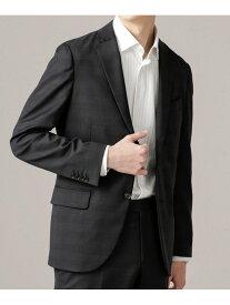 [Rakuten Fashion]【SALE/50%OFF】イタリア生地チェック柄ジャケット SL nano・universe ナノユニバース コート/ジャケット テーラードジャケット ブラック ネイビー【RBA_E】【送料無料】
