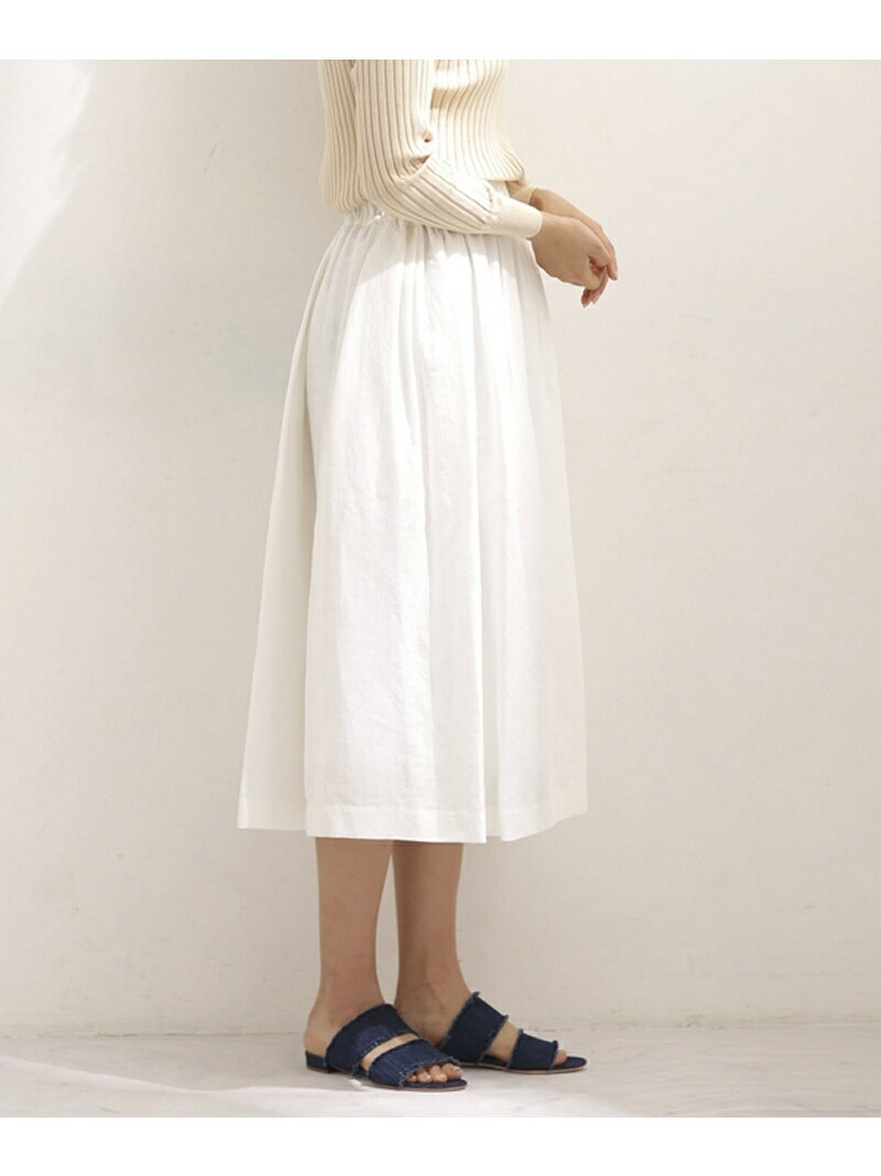 【SALE/40%OFF】SACRA LINEN KARLMAYER SKIRT ナノユニバース スカート【RBA_S】【RBA_E】【送料無料】