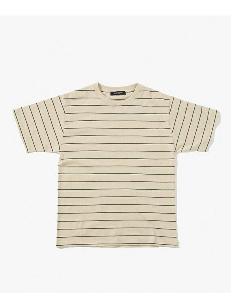 [Rakuten BRAND AVENUE]【SALE/70%OFF】バリエーションボーダーTシャツ 2 ナノユニバース カットソー【RBA_S】【RBA_E】