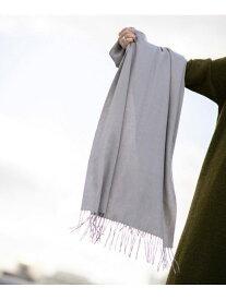 【SALE/30%OFF】カシミヤ100%ストール nano・universe ナノユニバース ファッショングッズ マフラー/スヌード グレー ホワイト ブラウン レッド オレンジ【RBA_E】【送料無料】[Rakuten Fashion]