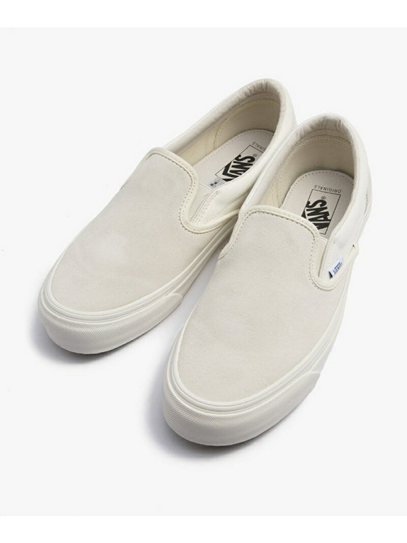 【SALE/30%OFF】VANS OG CLASSIC SLIP-ON LX ナノユニバース シューズ【RBA_S】【RBA_E】【送料無料】