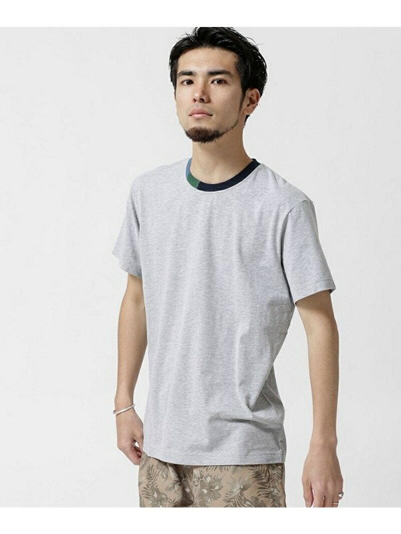 [Rakuten BRAND AVENUE]【SALE/60%OFF】イタリアンピーチ加工フェードTシャツ nano・universe ナノユニバース カットソー【RBA_S】【RBA_E】