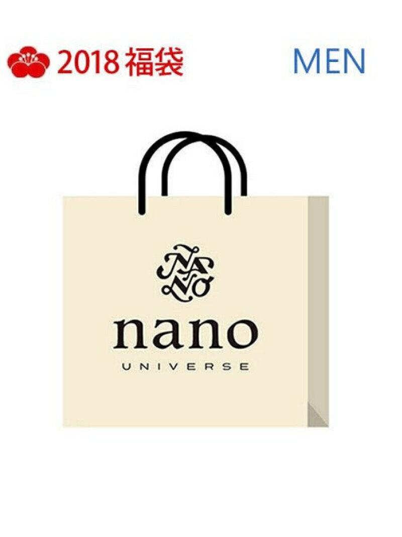 [Rakuten BRAND AVENUE][2018新春福袋] MEN福袋 nano・universe nano・universe ナノユニバース その他【RBA_S】【送料無料】