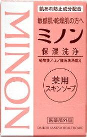 ミノン薬用スキンソープ 80G