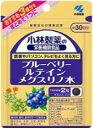小林製薬 ブルーベリー ルテイン メグスリノ木 60粒(約30日分)