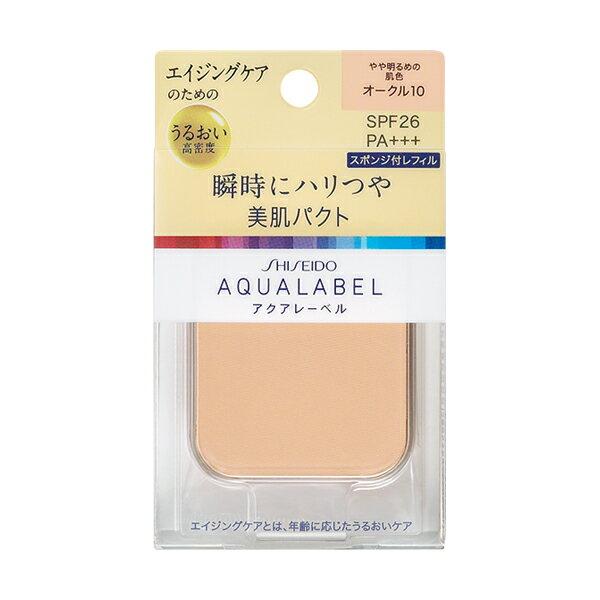 アクアレーベル 明るいつや肌パクト オークル20 (レフィル) 11.5g