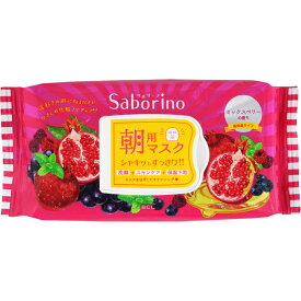 サボリーノ 目ざまシート 完熟果実の高保湿タイプ 28枚(272mL)