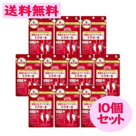 命の母 発酵 大豆 イソフラボン エクオール 30日分 30粒 10点セット 腸内細菌 【小林製薬】