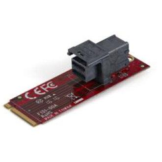 StarTech. com U. 2 (SFF-8643) - M. 2 PCI Express 3.0 x4호스트 어댑터 카드 2.5(M2E4SFF8643) 기준 재고=○