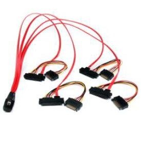 StarTech.com 50cm SFF8087 - 4x SFF8482 ケーブル SAS808782P50 目安在庫=△