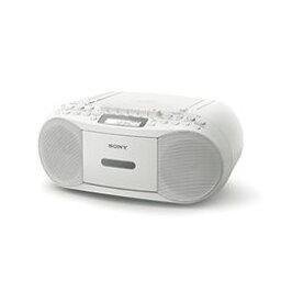 索尼 CD radiocassettecorder 白色 CFD-S70/W 標準股票 =-