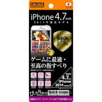 花環·無效的iPhone 6/6s遊戲&應用程式保護膜(anchigurea)(RT-P7FT/G1)大致目標庫存=○[對象商品]