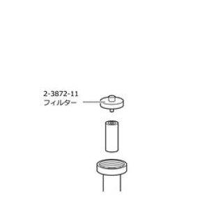 DLAB コントローラ交換フィルタ17000760 目安在庫=○