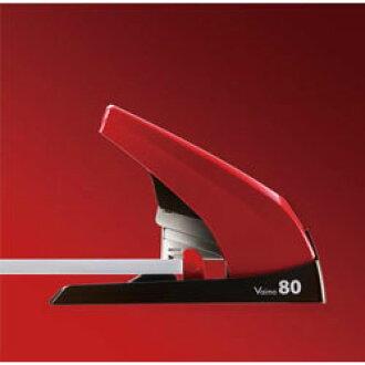 MAX 馬克斯馬克斯釘書機 Vaimo80 紅色高清-11UFL/R (HD90498) 標準股票 ○