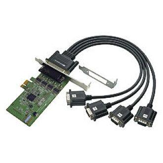 ratokkushisutemu 4端口RS-232C、数码I/O PCI Express板REX-PE64D没有库存