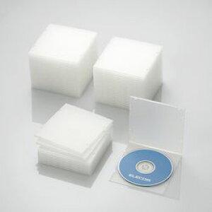 エレコム CD DVDスリムPPケース 1枚収納 50パック クリア CCD-JPCS50CR メーカー在庫品