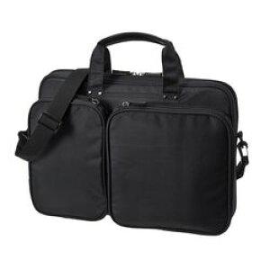 【P8S】サンワサプライ 衝撃吸収PCケース(13.3型ワイド) ブラック BAG-P23BK(BAG-P23BK) メーカー在庫品