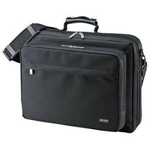 【P8S】サンワサプライ PCキャリングバッグ(15.6型ワイド対応) BAG-U54BK2(BAG-U54BK2) メーカー在庫品