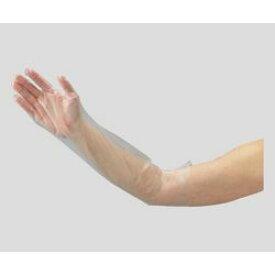 アズワン ポリエチレンロング手袋M 100枚 (1箱(100枚入り)) 目安在庫=△