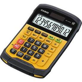 カシオ計算機 カシオ 電卓 10桁 防水防塵電卓 ブラック&イエロー WD-320MTN(WM-320MT-N) 目安在庫=△