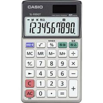 카시오 계산기 카시오 계산기 10 자리 수첩 타입 그린 구입 법 적합 SL-930GT-N 메이커 재고 [대상 상품]