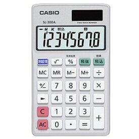 カシオ計算機 手帳タイプ電卓 SL-300A-N メーカー在庫品