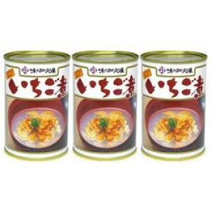加久の屋 青森の味!ウニとアワビを使用した潮汁 元祖 いちご煮 415g【3個】(17080995*3) 目安在庫=△