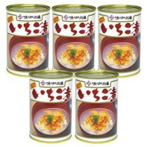 加久の屋 青森の味!ウニとアワビを使用した潮汁 元祖 いちご煮 415g【5個】(17080995*5) 目安在庫=△