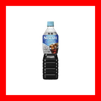 ネスレ エクセラボトルコーヒー無糖900ml/12本