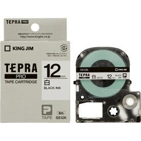 キングジム テプラPRO テープカートリッジ SS12K
