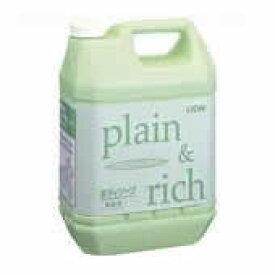 【キャッシュレス5%還元】ライオン プレーン&リッチ ボディーソープ業務用4.5L