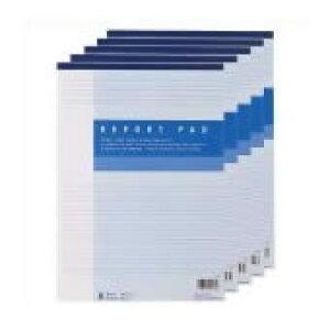 ジョインテックス レポート用紙5冊パック A4B罫 P008J-5P