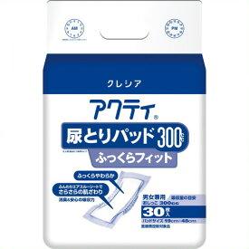 《日本製紙クレシア》 アクティ尿とりパッド300ふっくら30枚 6P