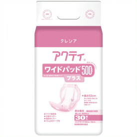 《日本製紙クレシア》 アクティ ワイドパッド500プラス 30枚 6P