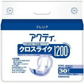 《日本製紙クレシア》 アクティ パワー消臭パッド1200 30枚4P