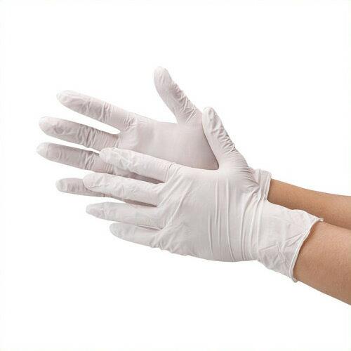 《川西工業》 ニトリル極薄手袋 粉なし WS #2039ホワイトS